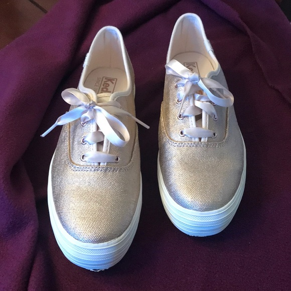 Keds Shoes - Rose Gold Keds